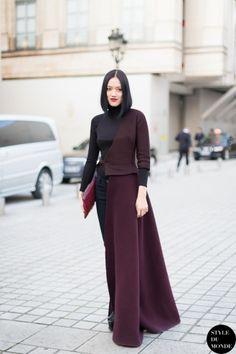 Paris Fashion Week FW 2014 Street Style: Tiffany Hsu