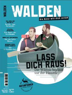 """Neues Outdoormagazin für Männer: """"WALDEN"""""""
