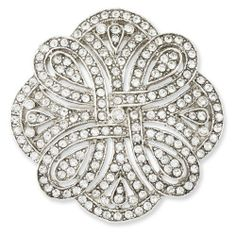 Silver-tone Art Deco Crystal Pin Jewelrypot. $87.99. 30 Day Money Back Guarantee. Fabulous Promotions and Discounts!. 100% Satisfaction Guarantee. Questions? Call 866-923-4446. All Genuine Diamonds, Gemstones, Materials, and Precious Metals. Your item will be shipped the same or next weekday!