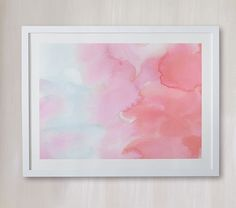 Autumn, No. 1 (Clouds) Wall Art by Minted® | Pottery Barn Kids