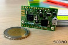 Anyone looking for a small Internet of Things development board might be interested in the new creation by SODAQ in the form of the LoRaONE witch as the na