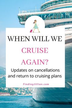 Updates on cruise cancellations and return-to-cruising plans for the major cruise lines. Carnival plans to return to service, Royal Caribbean cancellations, and booking incentives. Updates from Norwegian Cruise Line, Celebrity, Disney, Holland America, and more. #cruiseplanning #cruisetips |rebooking a cruise | cruise cancellations | Halt in cruising |