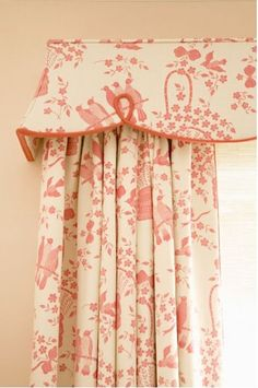 Sweet detail for a girls room
