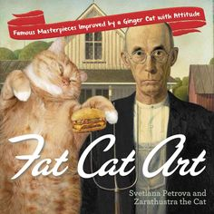 Fat Cat Art: Famous Masterpieces Improved by a