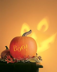 Whether you're carving, decorating, or using this classic fall gourd for Halloween inspiration, our pumpkin ideas will excite you all season. Halloween Tipps, Halloween Boo, Holidays Halloween, Halloween Treats, Halloween Pumpkins, Happy Halloween, Halloween Decorations, Halloween 2018, Holiday Decorations