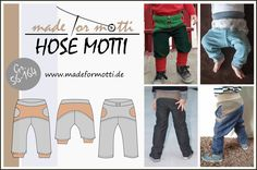"""The free pattern for the """"pants"""" Motti by Made for Motti is for B … - Fashion Design Pants Pattern Free, Free Pattern, Cover Pics, Cover Picture, Sewing For Kids, Baby Boy Outfits, Motto, Diy Clothes, Sewing Projects"""