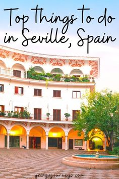Learn the top things to do in Seville, Spain, including visiting the Plaza de España, the Seville Cathedral, and the Royal Alcázar of Seville. | unusual things to do in seville | best restaurants in seville | things to do in seville at night |best things to do in seville | seville must see | seville top attractions | top 10 things to do in seville | what to do in seville spain | what to see in seville spain | seville must see European Travel Tips, European Destination, Best Countries In Europe, Alcazar Seville, Seville Spain, Backpacking Europe, Spain And Portugal, Andalusia, Winter Travel