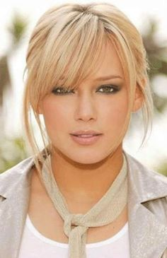 Love long hairstyles with bangs? wanna give your hair a new look? long hairstyles with bangs is a good choice for you. here you will find some super sexy Blonde Hair With Bangs, Blonde Hair Shades, Haircuts For Medium Length Hair With Bangs, Thin Hair Bangs, Shoulder Length Hair With Bangs, Messy Bangs, Blonde Updo, Curly Haircuts, Trendy Haircuts