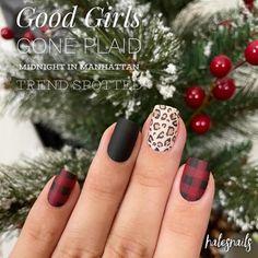 Get Nails, How To Do Nails, Hair And Nails, Nail Color Combos, Nail Colors, Holiday Nails, Christmas Nails, Fru Fru, Color Street Nails