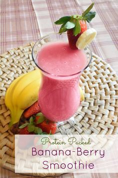 BananaBerry Smoothie