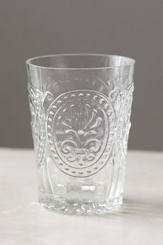 Fleur De Lys Juice Glass