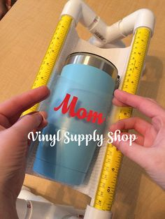Cricut Projects Discover Hands Free Cup Cradle Crafting Base for Helping Apply Sticky Vinyl Decals to Tumblers Mug Holder Craft Stand Custom Made Crafters Gift Inkscape Tutorials, Cricut Tutorials, Vinyle Cricut, Sticky Vinyl, Mug Holder, Diy Tumblers, Glitter Tumblers, Custom Tumblers, Circuit Projects