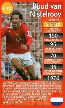 2012 Top Trumps Specials Manchester United #NNO Ruud Van Nistelrooy Front