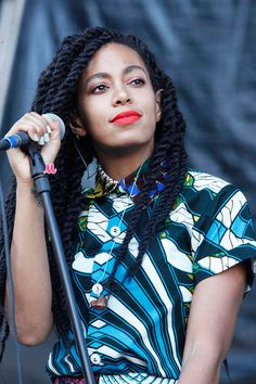 Solange-I think she can pull off any style--genius
