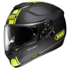 Shoei's newest colour scheme to hit the market in the GT Air Model. Black and Fluorescent Yellow is hugely populating in the motorcycle industry with leading brands such as Dainese and Alpinestars making some amazing looking clothing in Fluo Yellow.