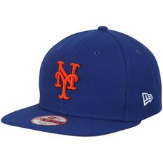 classic fit 91e0c 9c1c5 Men s New Era Royal New York Mets Flag Stated 9FIFTY Adjustable Hat