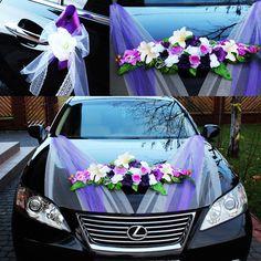 Bridal Car, Wedding Car Decorations, Dish Garden, Sugar Art, Just Married, Wedding Designs, Marie, Inspiration, Google
