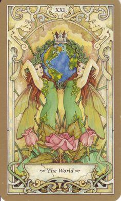 Mystic Faerie Tarot: The World