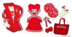 High School Musical Costumes Super Cheerleader Pkg New