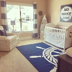 Nautical nursery #NurseryRugs