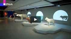 "Multimedia exhibition ""Russian Arctic"" at Zaryadye Park Interactive Exhibition, Interactive Walls, Interactive Installation, Interactive Design, Installation Art, Interactive Display, Interactive Media, Museum Exhibition Design, Exhibition Display"