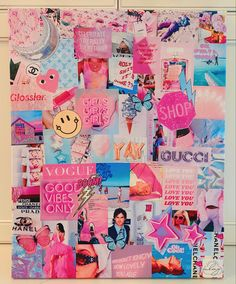 Cute Patterns Wallpaper, Images Wallpaper, Trendy Wallpaper, Wallpapers, Canvas Collage, Diy Canvas Art, Collage Art, Bedroom Wall Collage, Photo Wall Collage