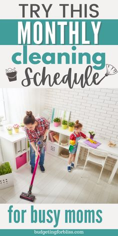 Safe Cleaning Products, Household Cleaning Tips, House Cleaning Tips, Cleaning Solutions, Cleaning Hacks, Monthly Cleaning Schedule, Cleaning Routines, Cleaning Checklist, Spring Cleaning List