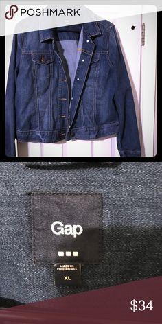 SALE🎉 Gap jean jacket Never worn jean jacket. Super cute! GAP Jackets & Coats Jean Jackets