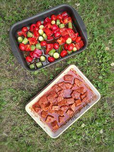 10 idées de marinades végétales | Vegan freestyle Seitan, Tempeh, Tofu, Marinade Bbq, Zucchini, Sauce Sriracha, Chili, Sandwiches, Parfait