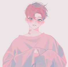 Anime, aesthetic, and boy image Art And Illustration, Pretty Art, Cute Art, Aesthetic Art, Aesthetic Anime, Korean Aesthetic, Manga Art, Anime Art, Dibujos Cute
