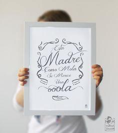 Lamina: Esta madre como mola de Mamá Josefa  por DaWanda.com