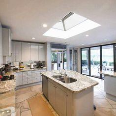 UltraSKY roof light from Ultraframe. See more at www.ultraframe.co.uk #rooflight #skylight #roofing #roof #kitchen #lanternroof #lantern #quality #flatroof #orangery #window #ultrasky #builder #roofer #roofers