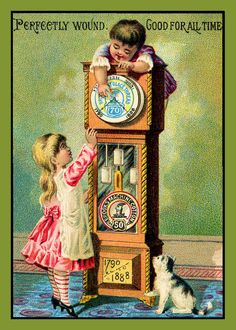 Grandfather Clock Refrigerator Magnet - Free Us Shipping