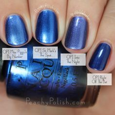Best Nail Polish Colors of 2019 for a Trendy Manicure Opi Nail Polish, Nail Polish Designs, Opi Nails, Nail Art Designs, Toe Polish, Nail Polishes, Cute Pink Nails, Fancy Nails, Blue Nails