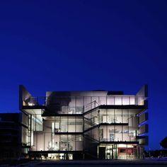 """Le """"RBC Design Center"""" de Montpellier, imaginé par Franck Argentin et dessiné par l'architecte Jean Nouvel."""
