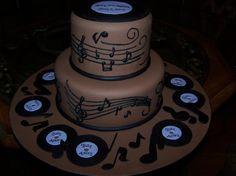 Music cake by Carolyn Brock