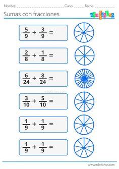 Fractions for Children Multiplication Facts Worksheets, 3rd Grade Math Worksheets, Printable Math Worksheets, Act Math, Math Charts, Math Poster, Math Formulas, Math Task Cards, Math For Kids