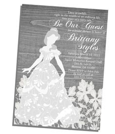 Black & White Rustic wooden vintage Disney by NhelyDesigns on Etsy Vintage Disney Princess, Ordinary Lives, Sweet Memories, Disney Style, Bridal Shower Invitations, Design Crafts, Fairy Tales, Silhouette, Creative Invites