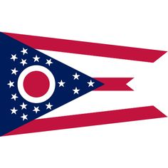 We need a flag, right? There's alot of places to get these, here's one | Ohio State Flag