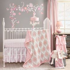 Product Image for Lambs & Ivy® Happi by Dena™ Charlotte 4-Piece Crib Bedding Set 1 out of 4
