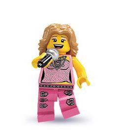 LEGO - Minifigures Series 2 - POP STAR