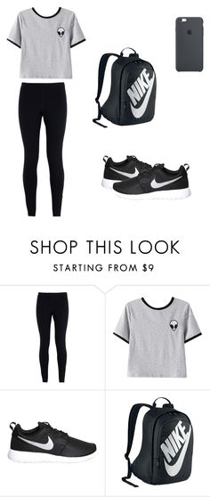 """""""Untitled #22"""" by cynthiaxgarcia on Polyvore featuring NIKE and Chicnova Fashion"""