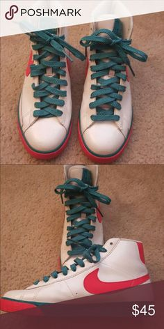 Nike dunks Great condition. Worn two or three times. Nike Shoes Athletic Shoes