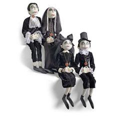 grandin road halloween haven 2014 vampire family - Halloween Haven
