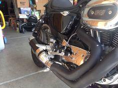 Chainsikle rearsets, D&D Bobcat exhaust