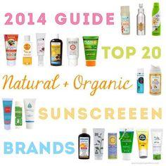 Unsere POMEGRANATE ANTIOXIDANT HYDRATION mit SPF 20 gehört zu den TOP 20 Natural & Organic Sunscreen Marken!
