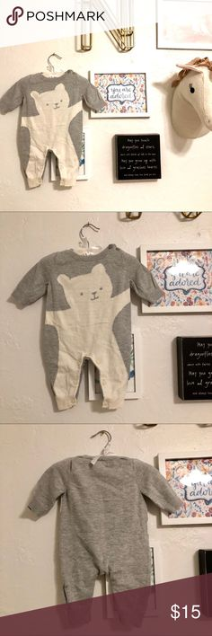 Bear-necessity Onesie for any Infant! Excellent Condition 0-3 Months Gap Kids One Pieces