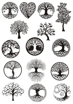 Vector ornament, decorative Celtic tree of life Ve. - Vector ornament, decorative Celtic tree of life Vector,tree digital file,tree dx… Vector ornamen - Tattoo Drawings, Body Art Tattoos, Art Drawings, Mandala, Celtic Tree Of Life, Tree Of Life Symbol, Tree Of Life Meaning, Celtic Circle, Vector Trees
