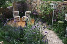 Hampton Court Flower Show, Building Design, Brick, Lavender, City, Garden, Flowers, Plants, Garten
