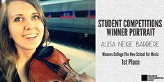 Student Competitions - Student Competitions Winner Portrait: Aliisa Neige Barrière